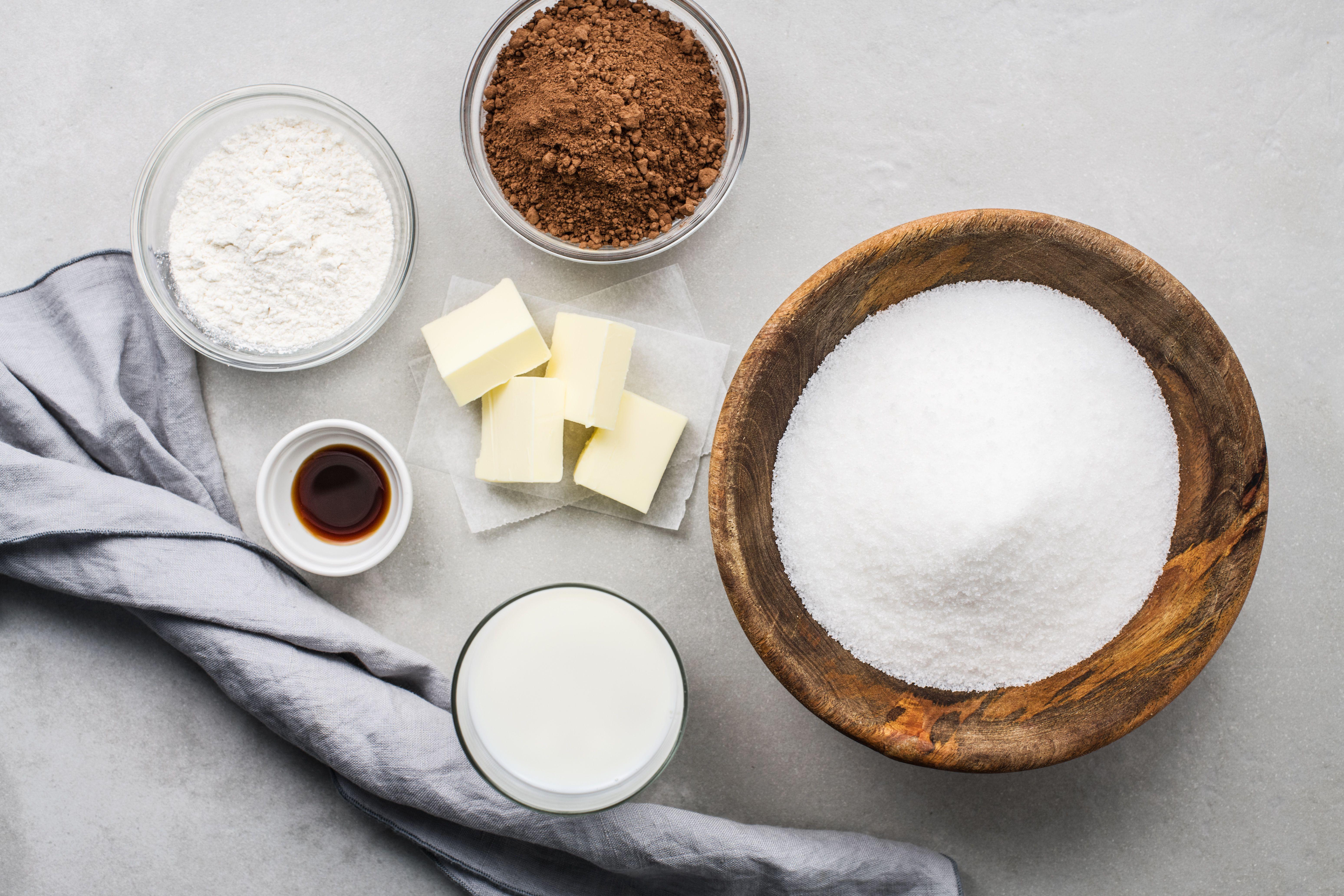 Hot fudge sauce recipe ingredients