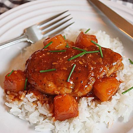 Sweet and Sour Pork Tenderloin Medallions