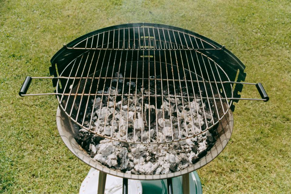 Maintain your charcoal grill