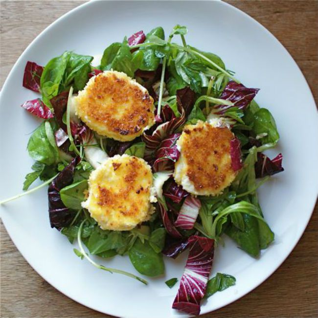 Salad Recipes Goat Cheese
