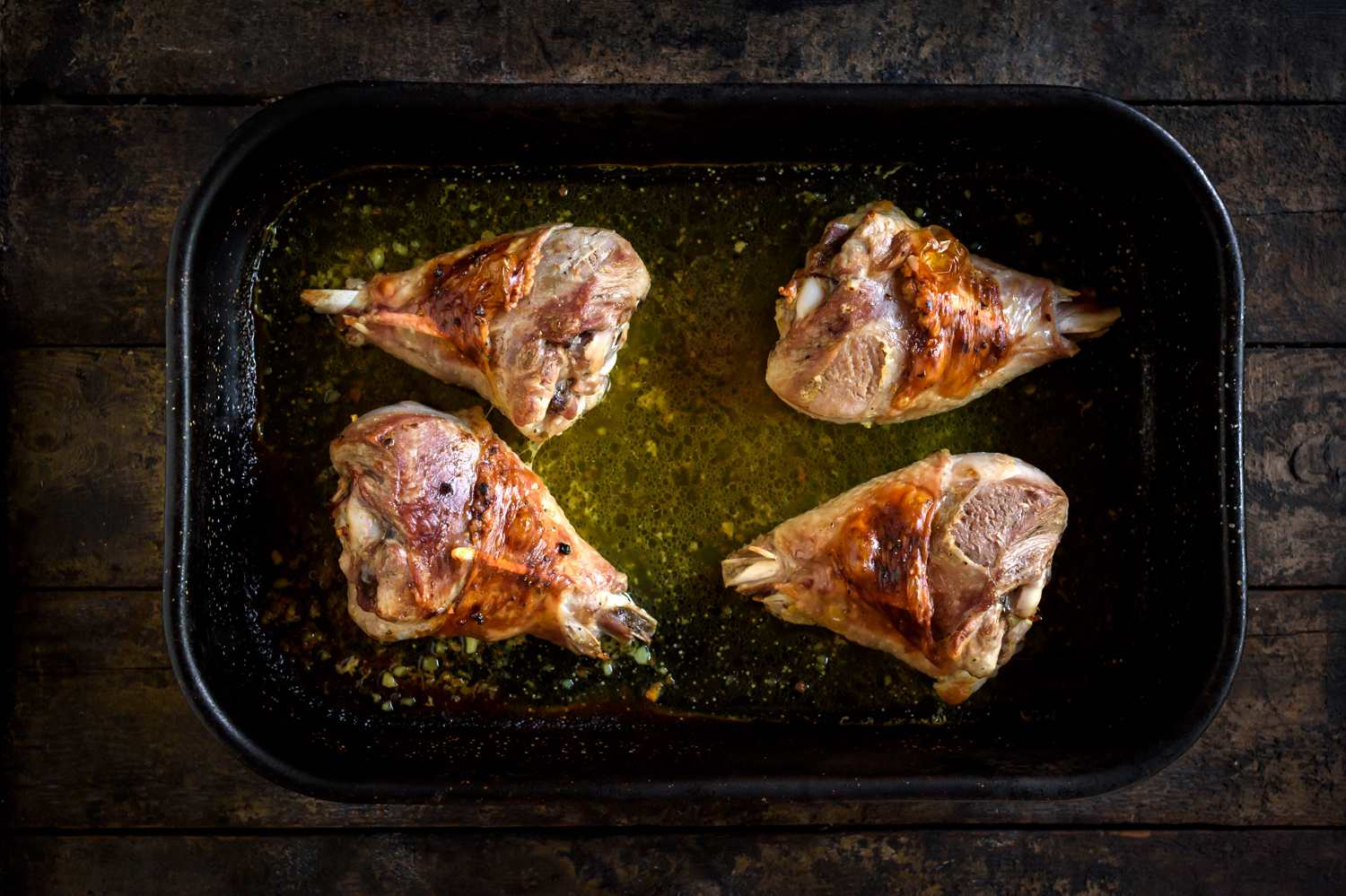 Roasted Turkey Legs Recipe
