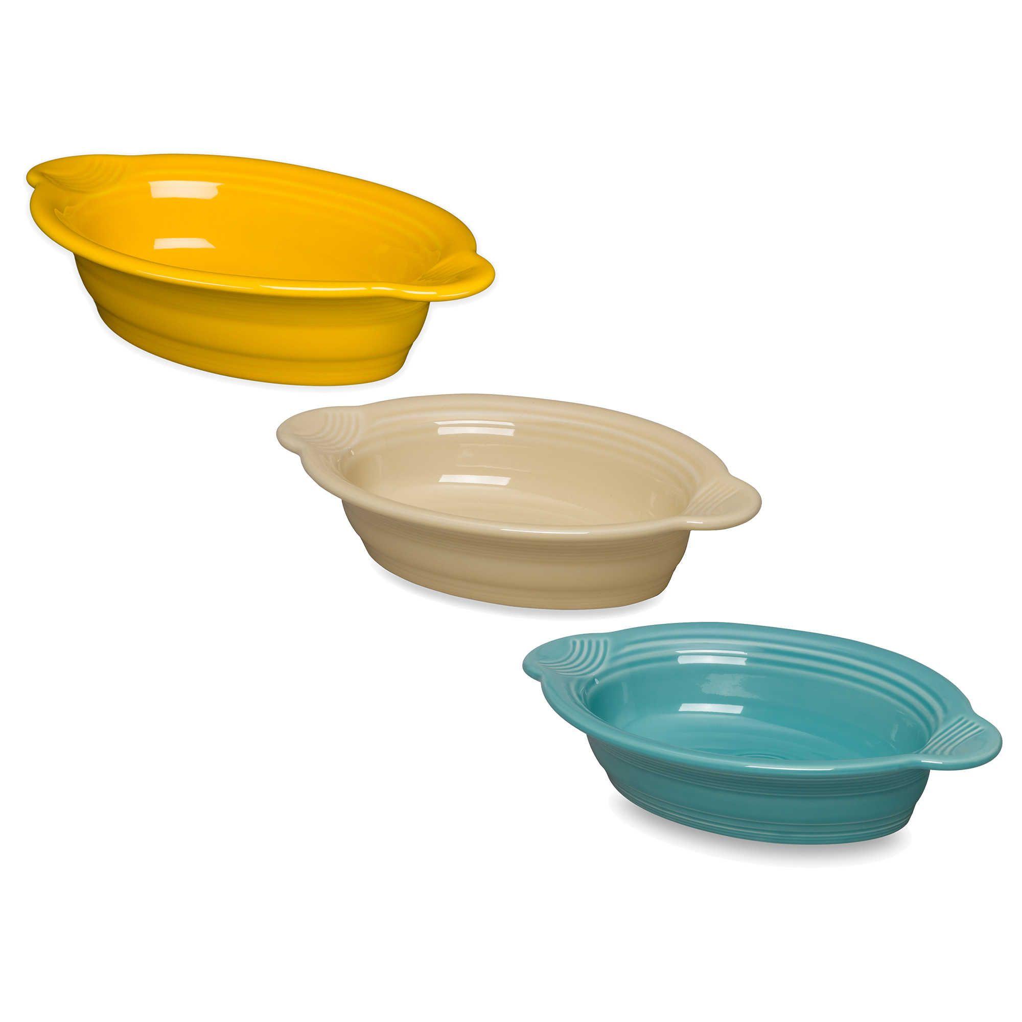 Oval Individual Cerole Dish
