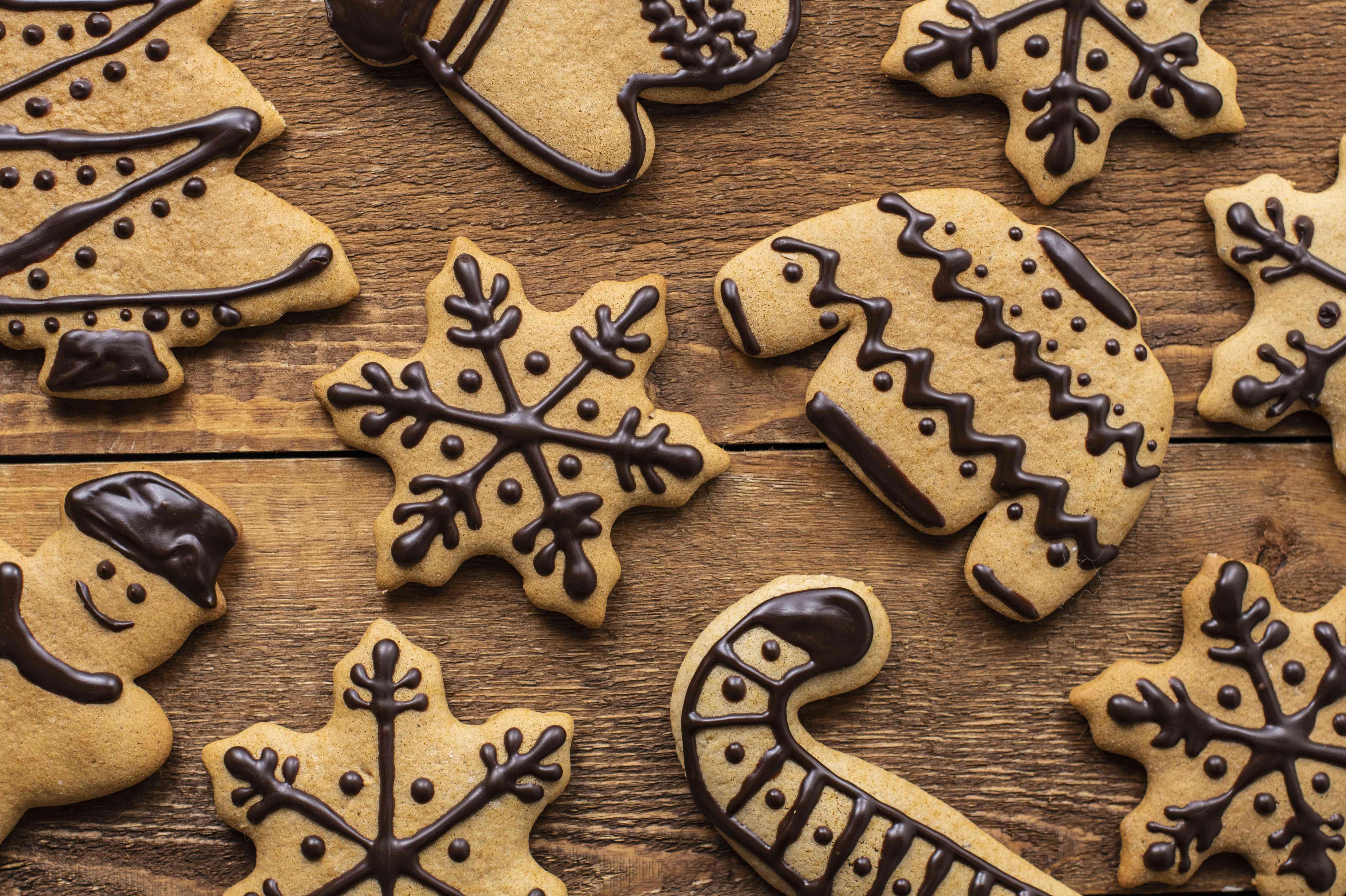 Polish gingerbread cookies