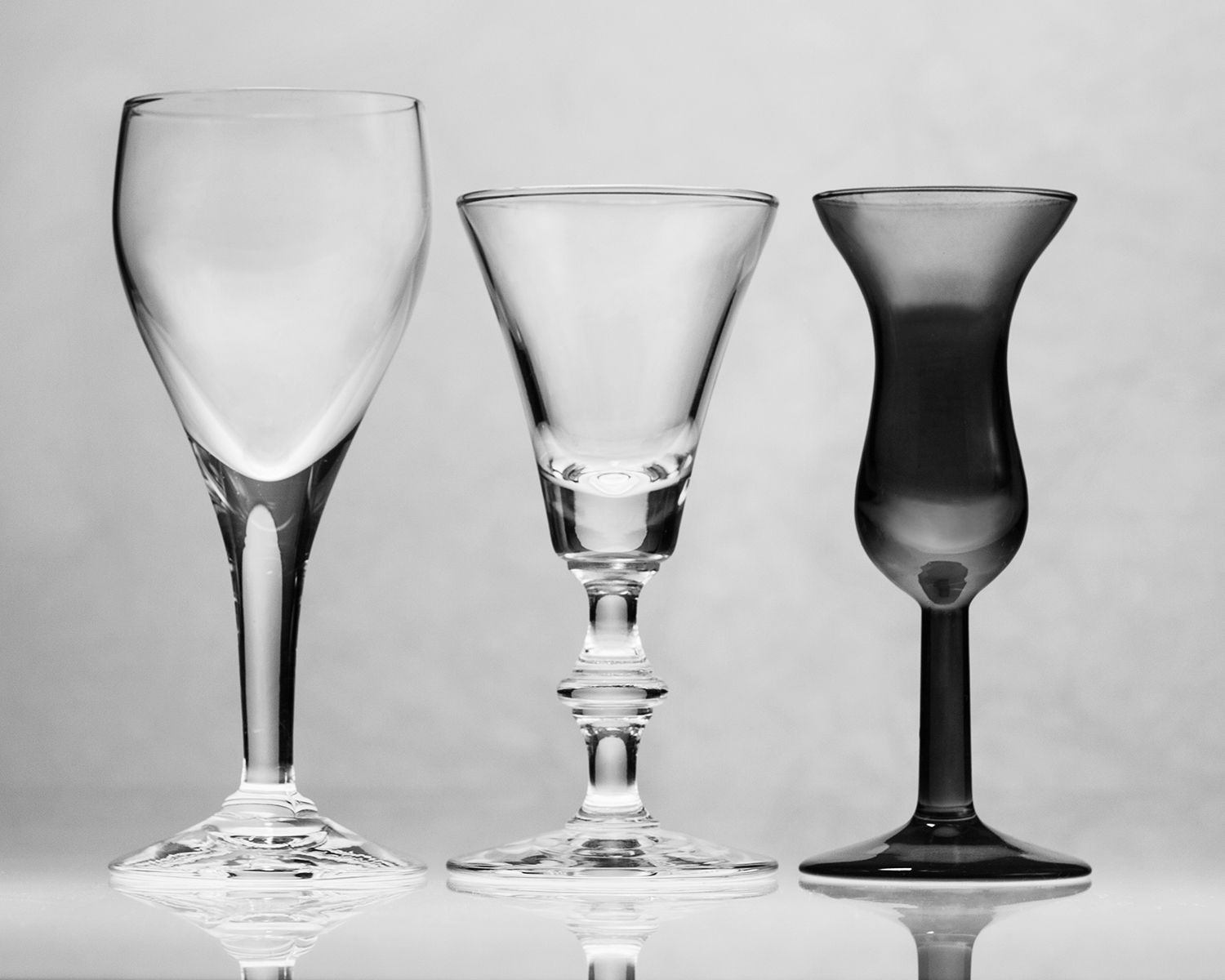 Cordial and Genever Glasses