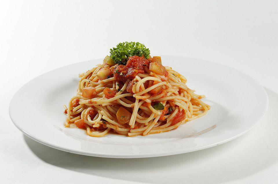 Vegetarian Crockpot Spaghetti Sauce