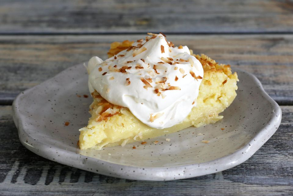 No-Crust Coconut Custard Pie