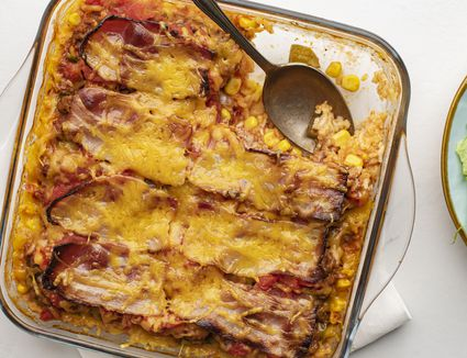 7-layer casserole with ground beef recipe