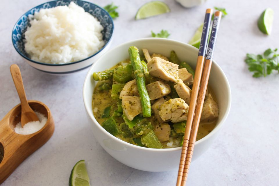 Thai green curry recipe