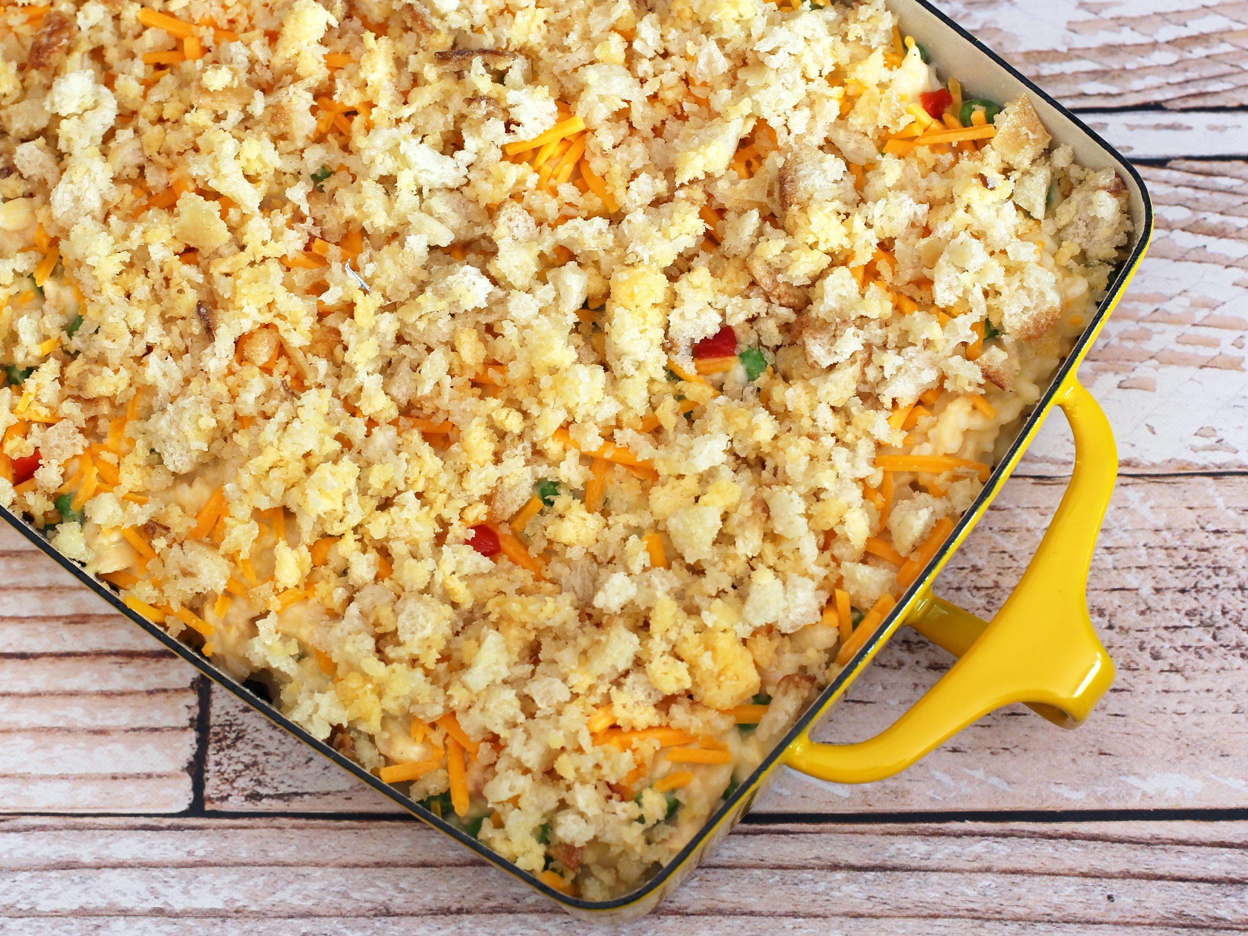 Tuna Cheese And Rice Casserole Recipe