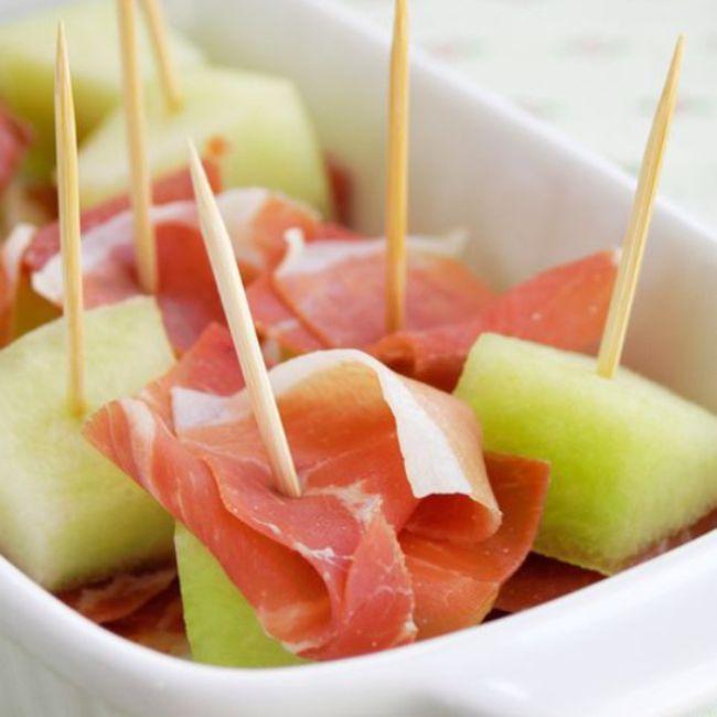 Spanish Melon With Serrano Ham