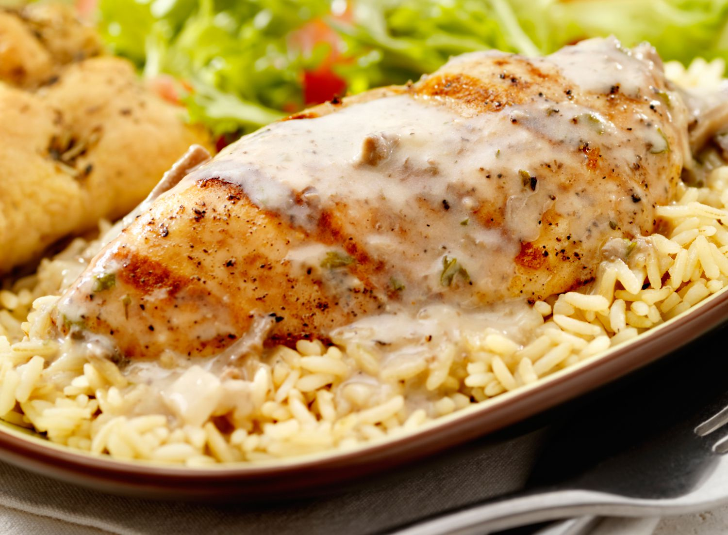 Easy Chicken and Rice Casserole with Italian Dressing Recipe