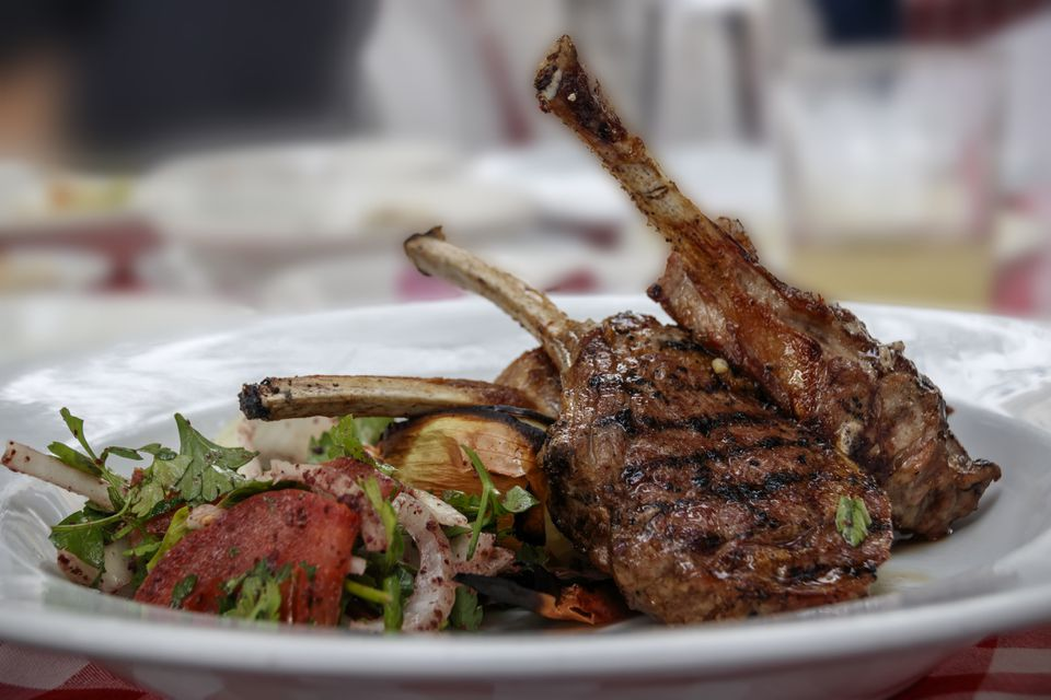 Eastern lamb chop