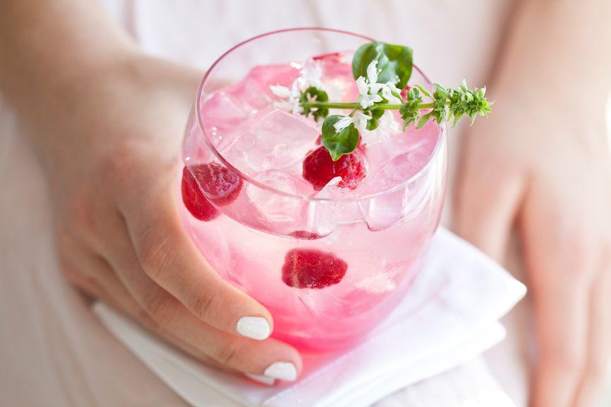 Girl's night in cocktail