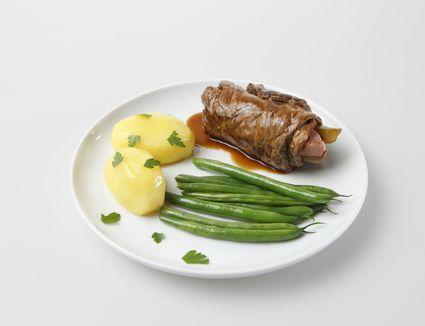 Crock pot beef rouladen