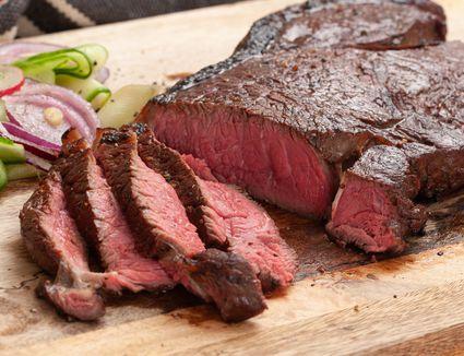 Marinated top round steak recipe
