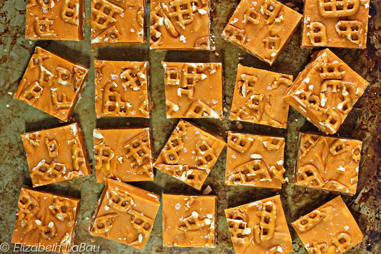 Pretzel Butterscotch Fudge