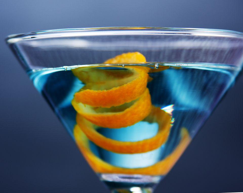 Sapphire Martini