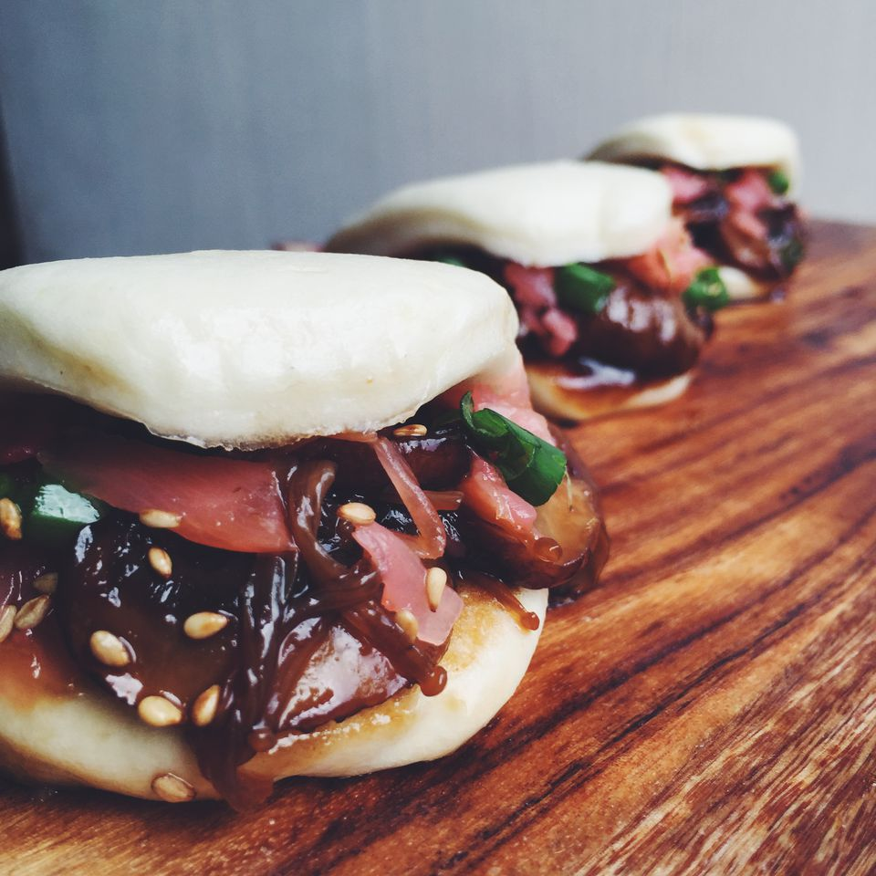 Hoison Glazed Mushroom Vegetarian Steamed Bun