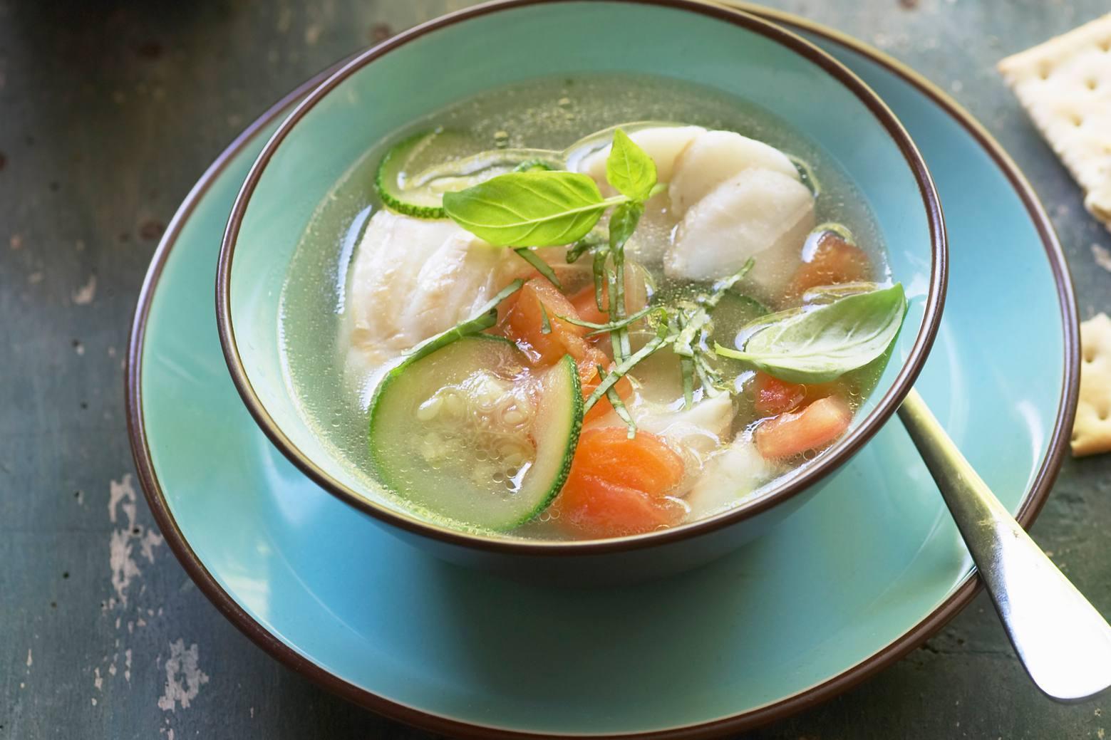 Russian fish soup
