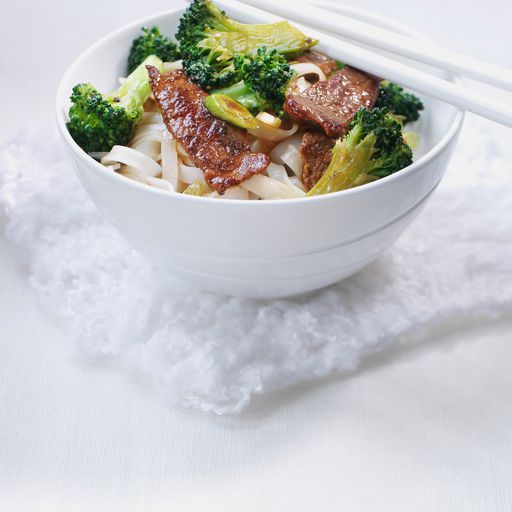 Beef With Broccoli Stir-Fry recipe
