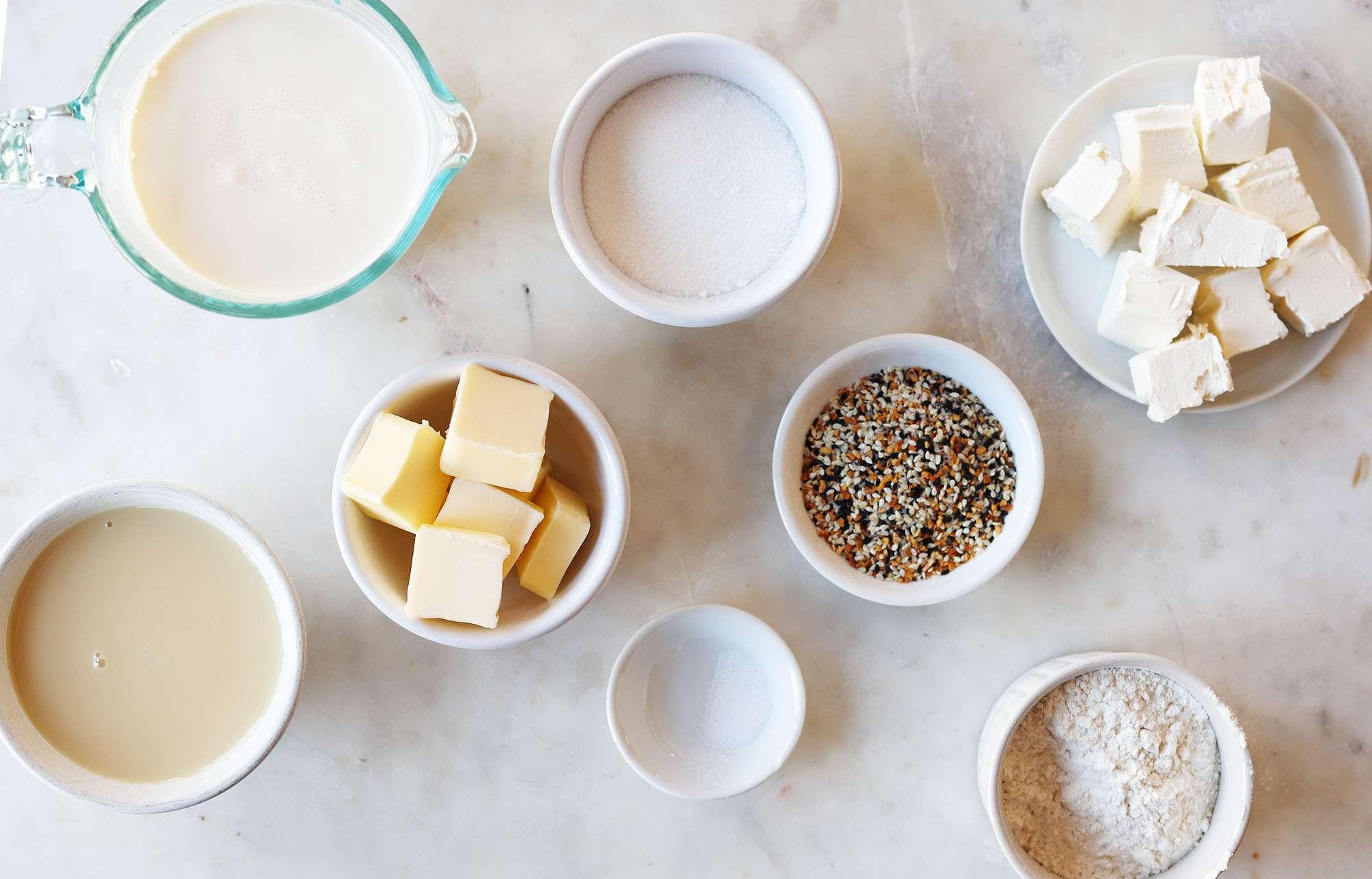 everything bagel ice cream ingredients