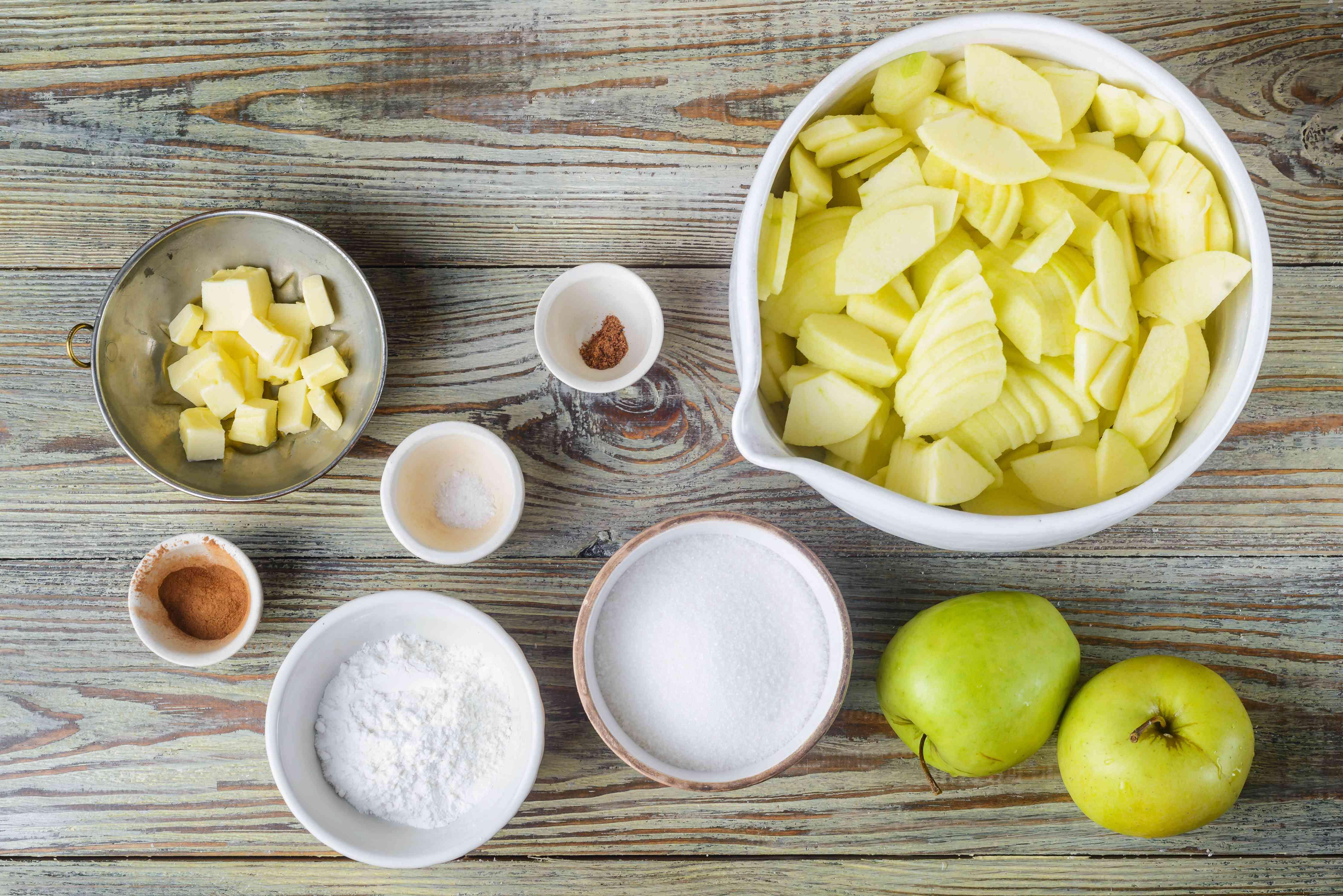 Apple filling ingredients