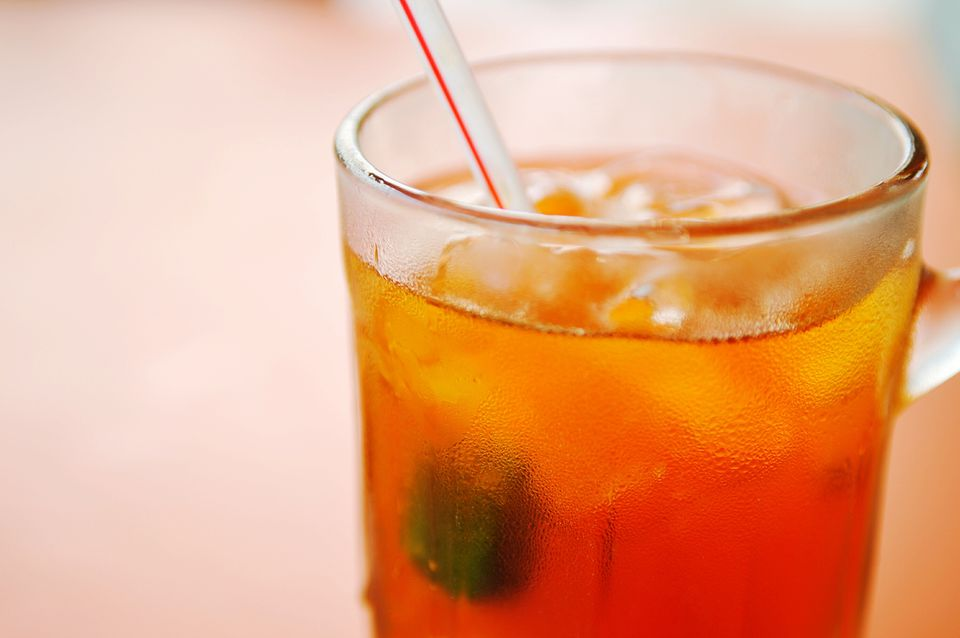 Close-Up Of Iced Tea