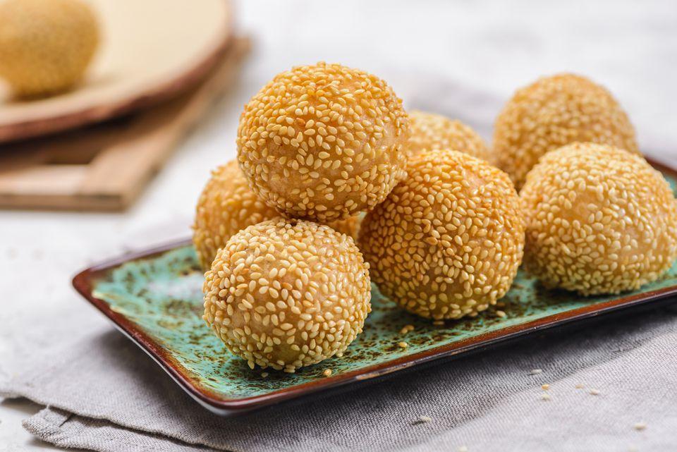 Sesame Seed Dessert Balls Recipe