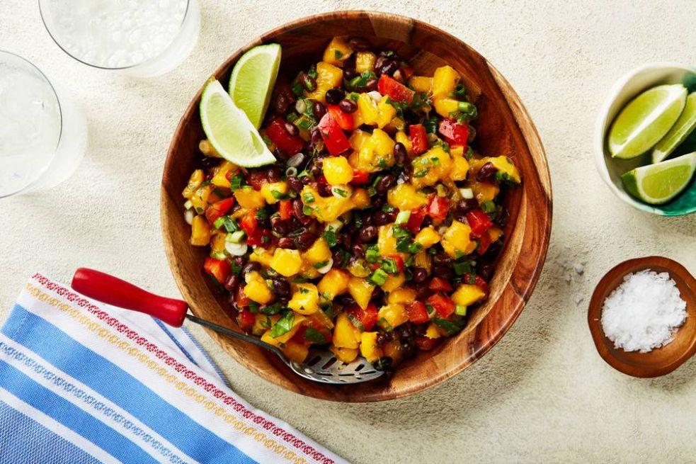 Black Bean and Mango Salad