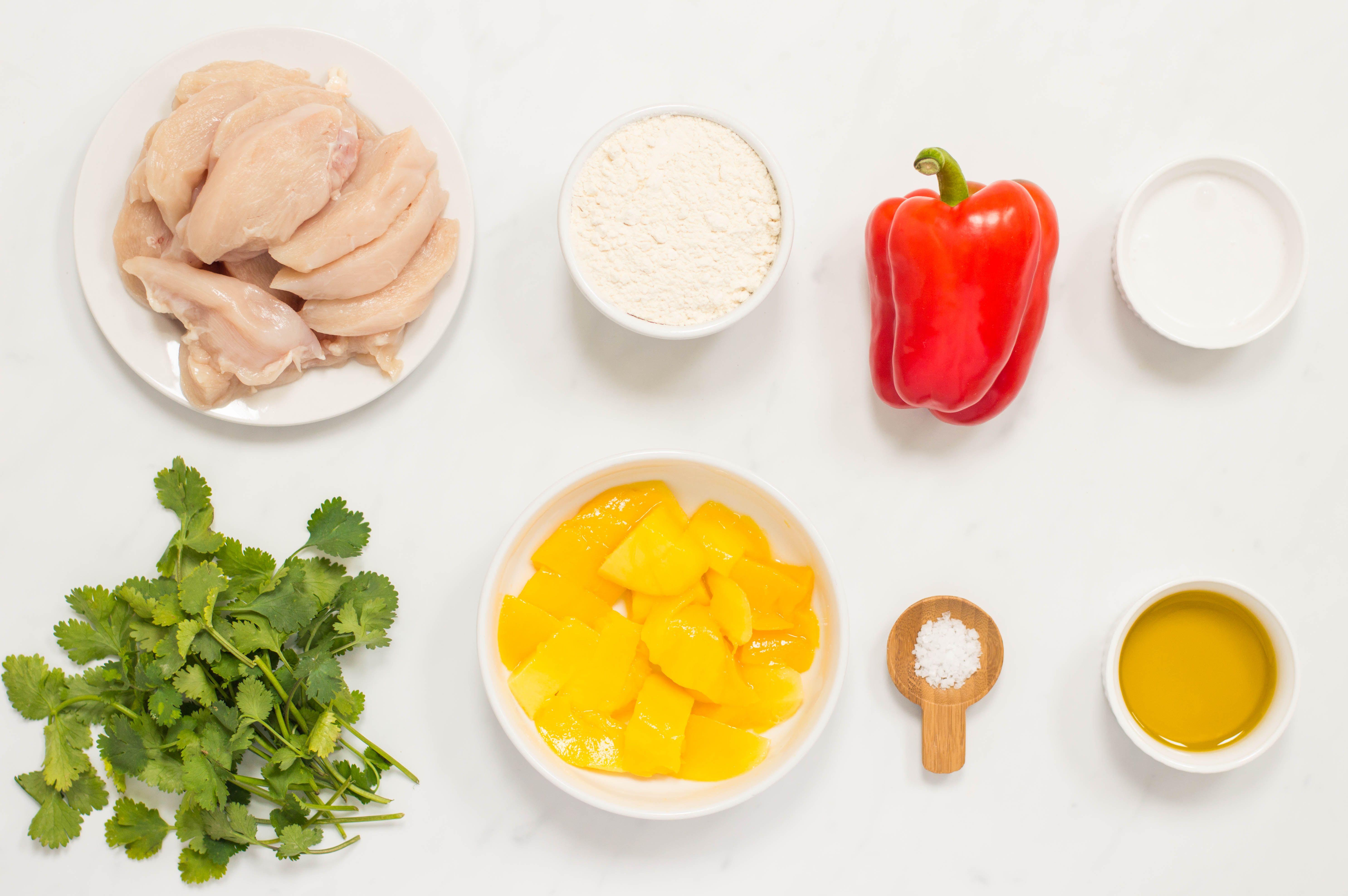 Thai Mango Chicken ingredients