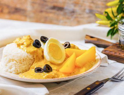 Spicy Creamed Chicken Aji de Gallina