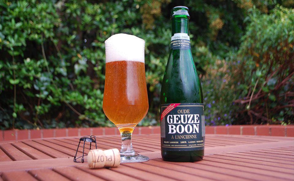 Geuze Boon: A Belgian lambic beer