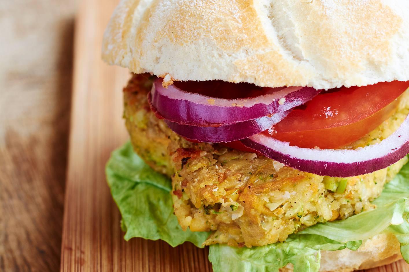 TVP burger