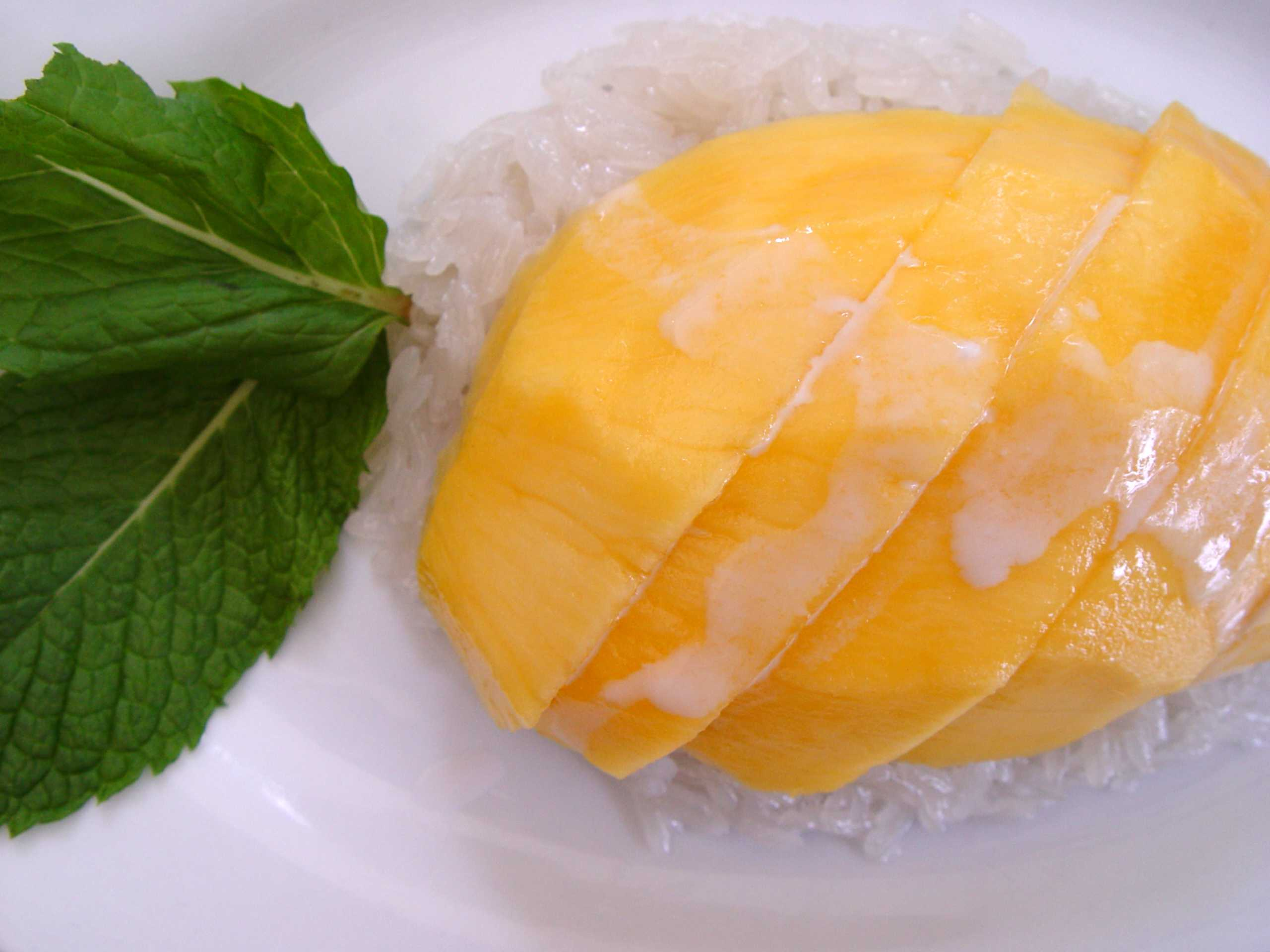 Sticky mango