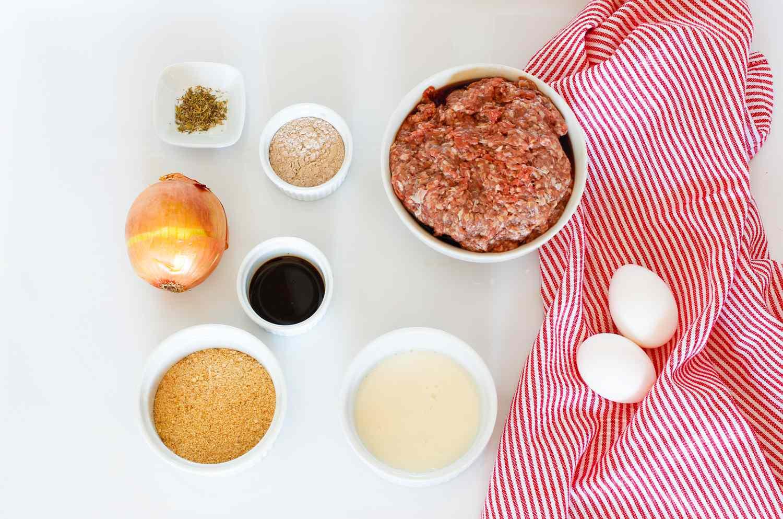 Meatloaf With Brown Gravy ingredients