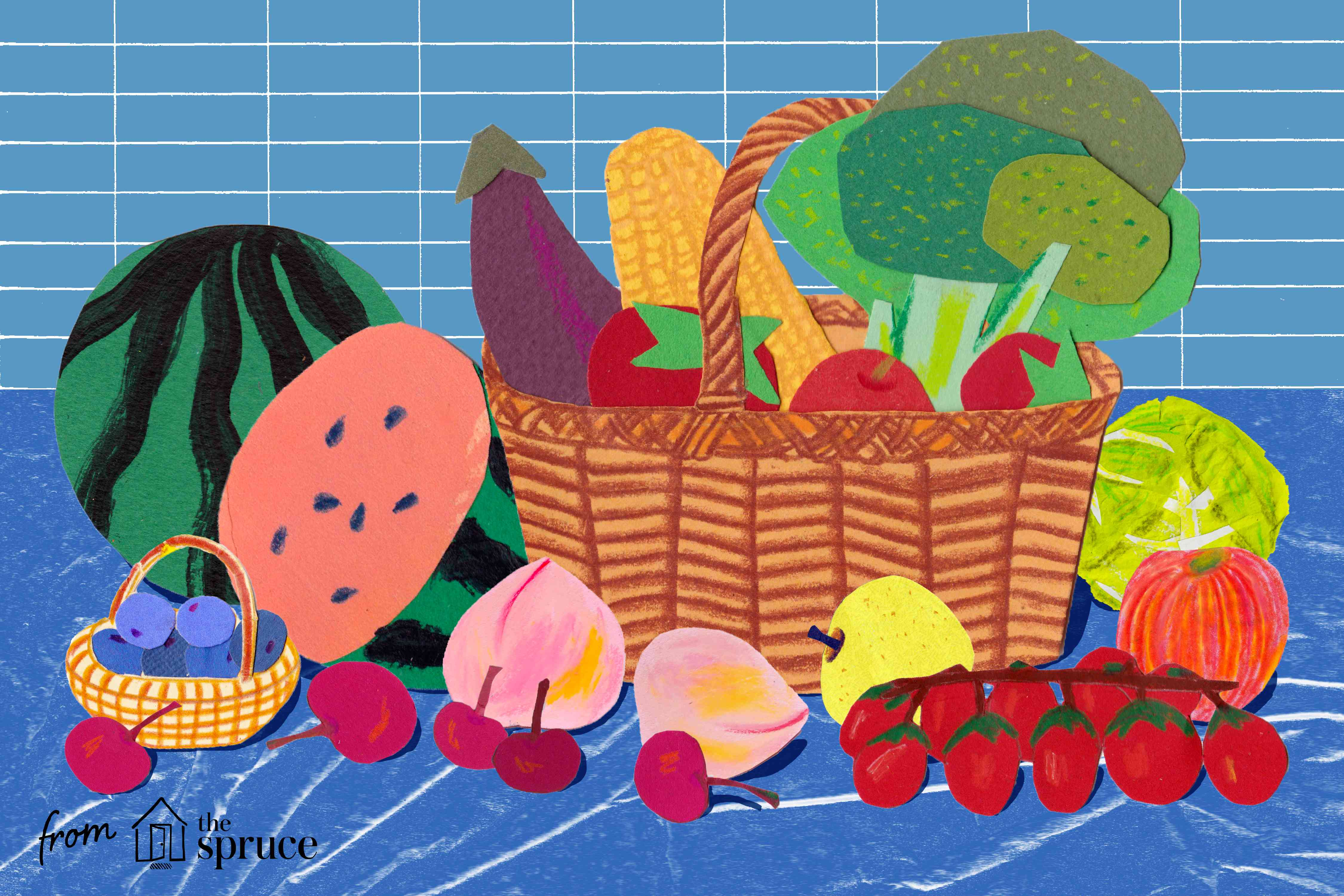 Buying in season produce