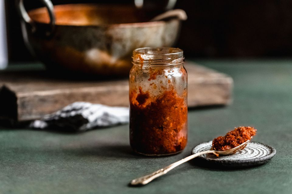 Sambal in a jar
