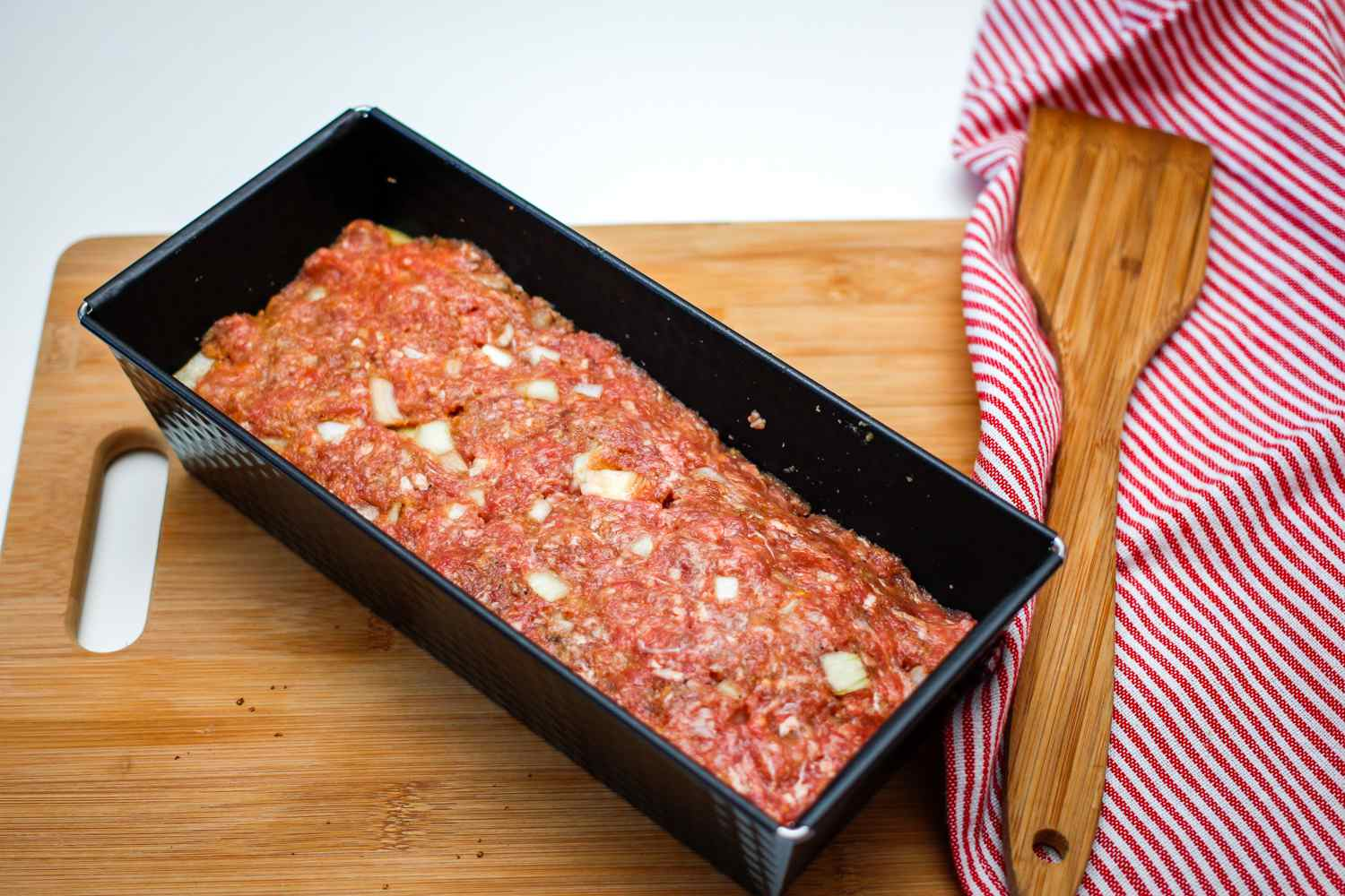Meatloaf in a baking pan
