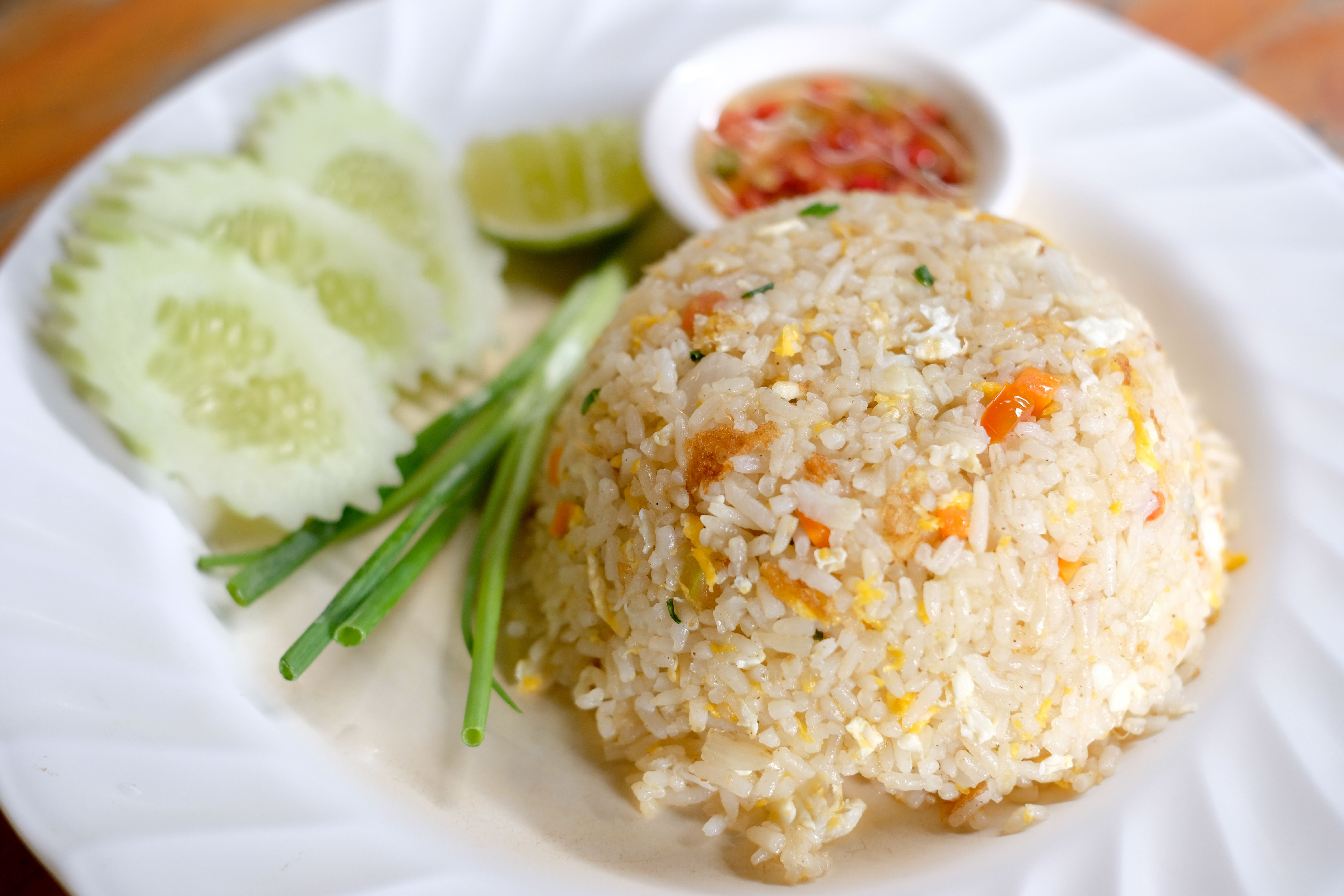 vegetable fried rice with cashews recipe