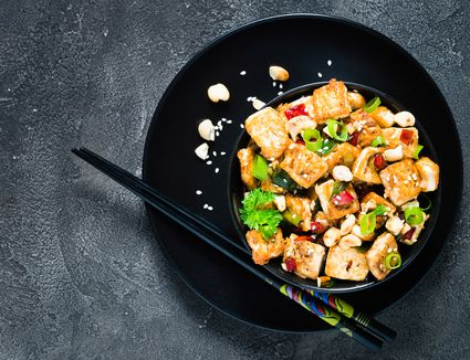 Tofu Cashew Stir Fry