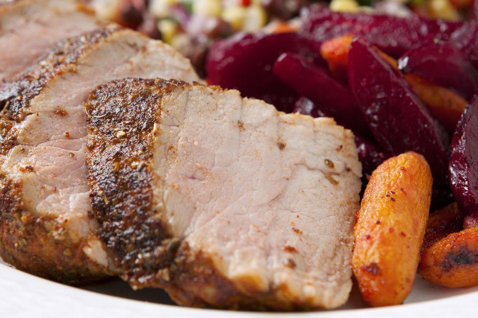 Southwestern Style Seasoned Loin of Pork Dinner