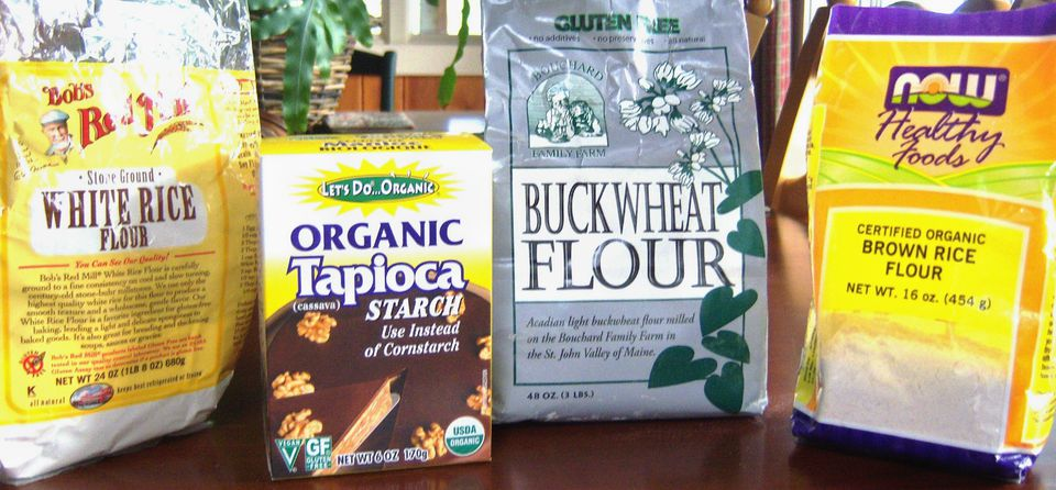 Gluten-Free Bread Flours and Starches Image Teri Gruss