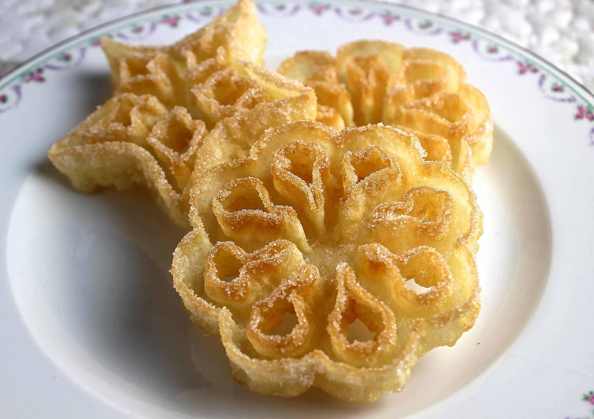 Rosettes cookies recipe izmirmasajfo
