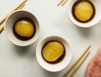Braised daikon radish recipe