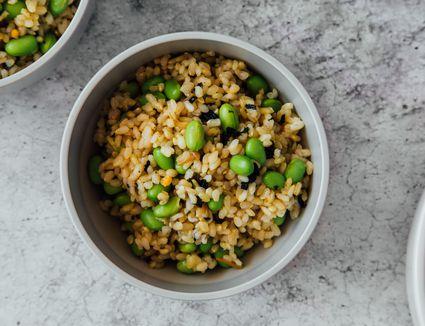 Edamame Mixed Rice (Maze Gohan) Recipe