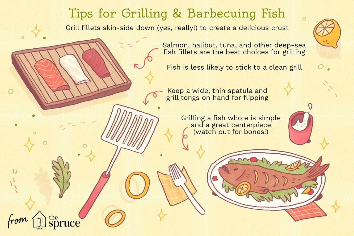 tips for grilling and barbecuing fish