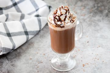 Adult Hot Chocolate Cocktail