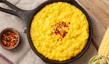 Homemade vegan creamed corn recipe