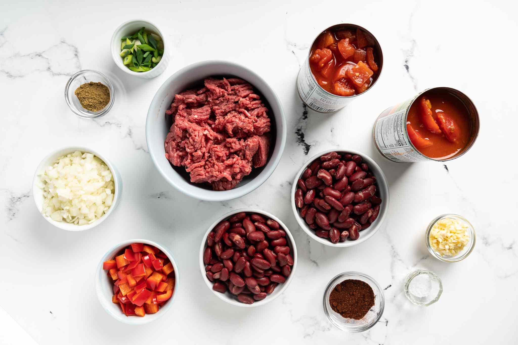Low calorie crock pot chili ingredients