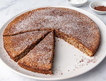 Chocolate and Almond Cake - Pastel de Chocolate y Almendras